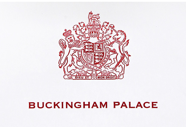 Buckingham palace Logo