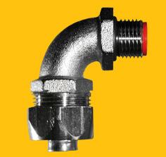 Nickel Plated Brass IP67 90deg Elbow Fittings