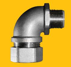 Stainless Steel (316) IP67 90deg Elbow Fittings