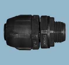 G-Series PVC Spiral Straight Fittings