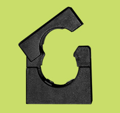 H-Series Nylon Conduit Clips