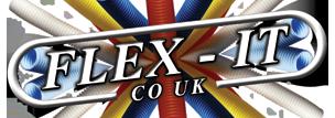 Flex-It Logo on Enquire Now Form