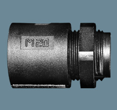 R-Series Black Polypropylene Hinged Fittings
