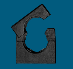 Flex-It Accessories - H-Series PA6 Nylon Conduit Clips