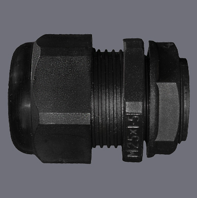 Black Dome Top IP68 Cable Glands