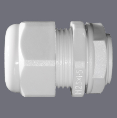 White Dome Top IP68 Cable Glands