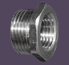 Y-Series Thread Reducers Nickel Plated Brass Metric to Metric