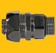 D-Series Nickel Plated Brass IP67 Swivel Fittings